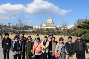 姫路城集合写真